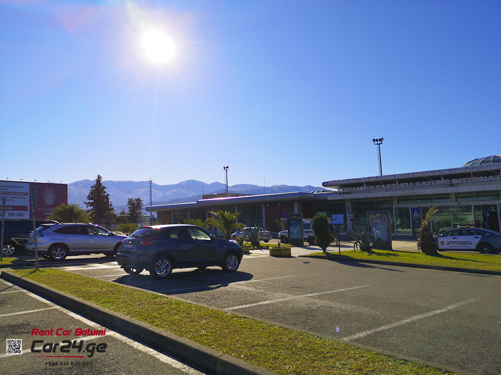 Car rental in Batumi airport